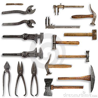 Free Old Tools Royalty Free Stock Photo - 5540105