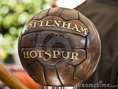 Old tottenham soccer bal Editorial Photography