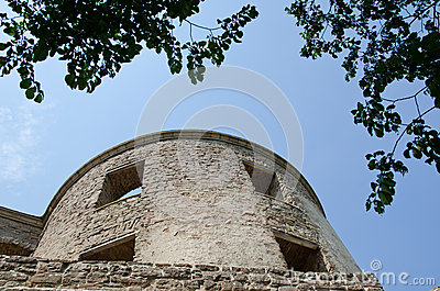 Old tower at a castle