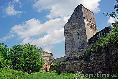 Old tower of fortress