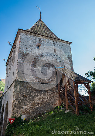 Free Old Tower In Sighisoara Stock Photography - 76077502