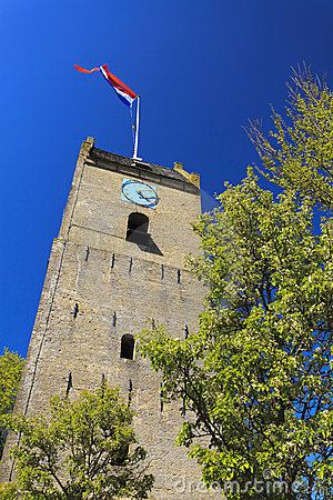 Old tower at Nes - Ameland