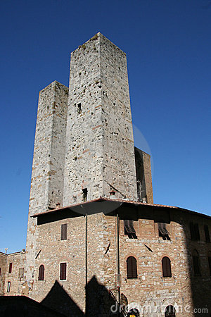 Free Old Towers Royalty Free Stock Image - 5989646