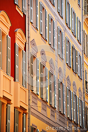 Free Old Town Architecture Of Nice On French Riviera Royalty Free Stock Image - 44331436