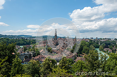 Old Town of Bern, Suisse
