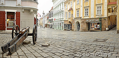 Old Town of Bratislava Editorial Image