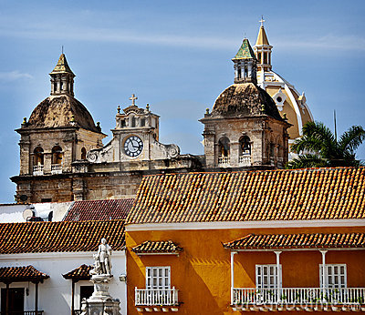 Old Town Cartagena, Columbia