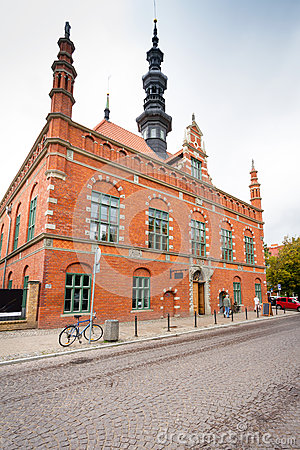 Old town city hall in Gdansk