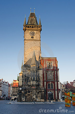 Old Town Clock tower, Stare Mesto, Prague