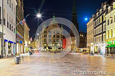 Old Town in Copenhagen, Denmark