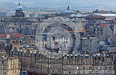 Old Town. Edinburgh. Scotland. UK.