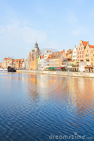 Old town embankment, Gdansk