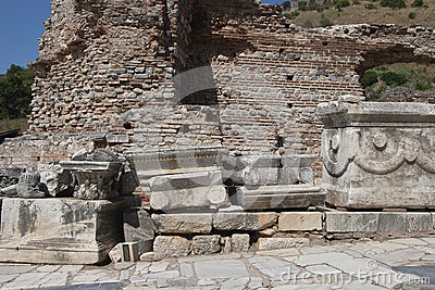 Old Town of Ephesus. Turkey