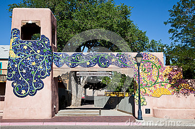 Old Town gate in Albuquerque