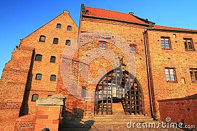 Old town in Grudziadz