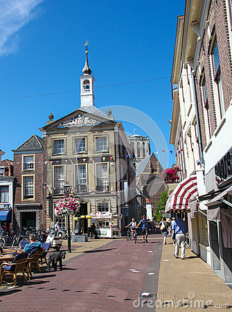 Free Old Town Hall Of Den Briel Or Brielle In The Netherlands Stock Images - 61322434