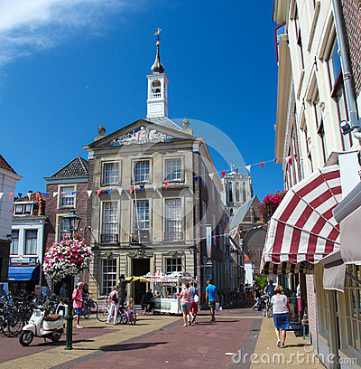 Free Old Town Hall Of Den Briel Or Brielle In The Netherlands Royalty Free Stock Image - 61322866