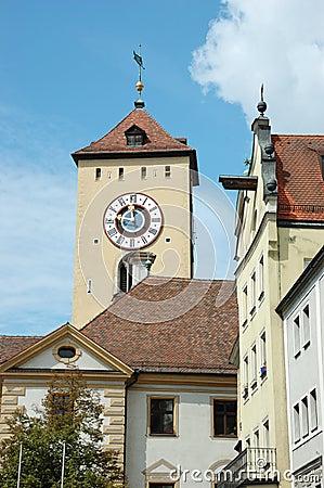 Old town hall of Regensburg,Germany,Bavaria