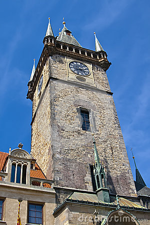 Old Town Hall Tower in Prague