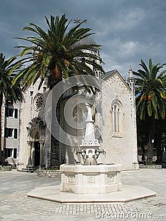 Old town in Herceg Novi (Montenegro)