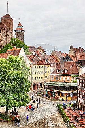 Free Old Town In Nuremberg Stock Image - 78335871