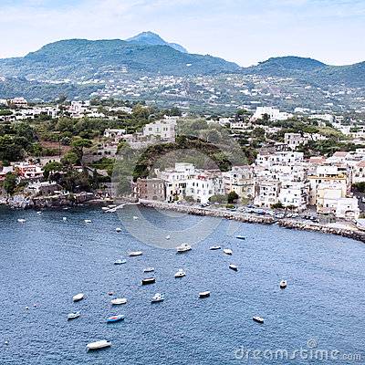 Old town of Ischia Ponte
