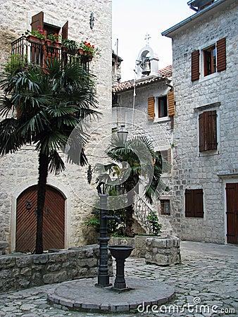 Old town in Kotor (Montenegro)