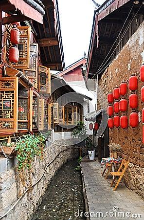 The Old Town of Lijiang,Yunnan province,China