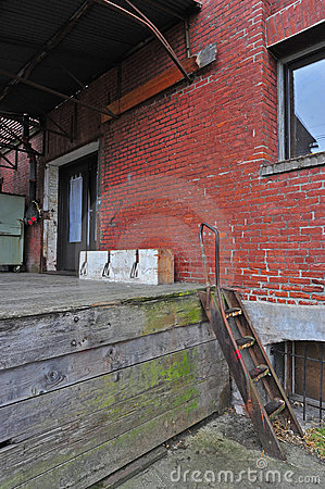 Old town loading dock
