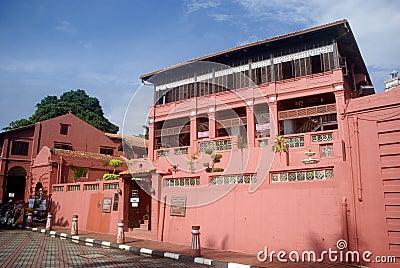 Old town, Melaka, Malaysia Editorial Image