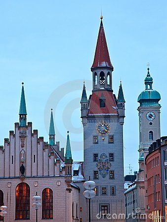 Old town Munich Germany