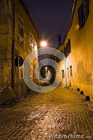 Free Old Town Narrow Street Stock Photo - 4009210