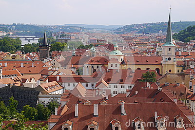 The old town Editorial Stock Image