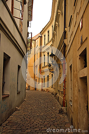 Old town in Prague (Czech Republic)