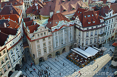 Old town square (Stare Mesto), Prague