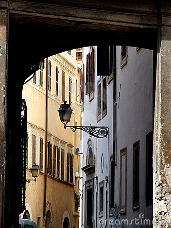 Free Old Town Street Royalty Free Stock Photography - 1785617