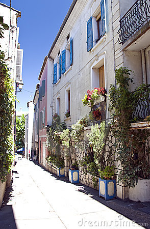 Old town street in Provence