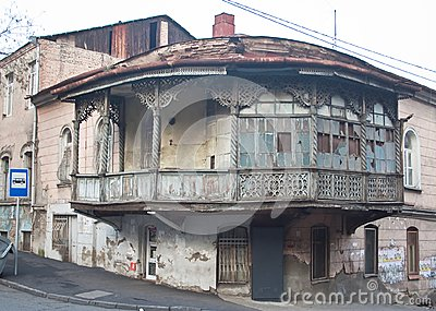 Old town.Tbilisi, Georgia.