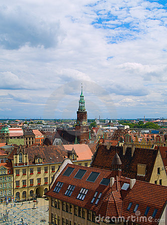Old town of Wroclaw, Poland