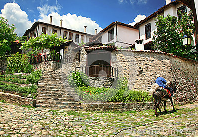 Old town Zlatograd Editorial Stock Image