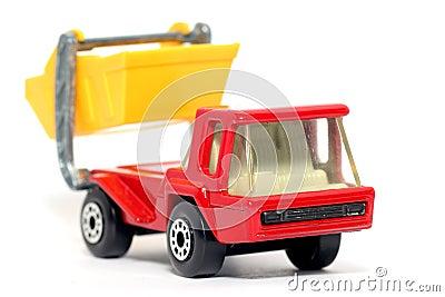 Old toy car Atlas Skip Truck