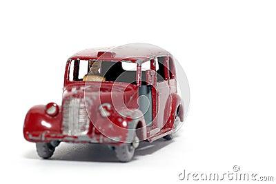 Old toy car Austin Metropolitan Taxi #2