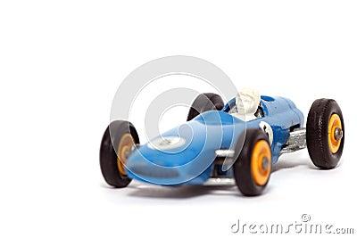 Old toy car B.R.M. Race car #2