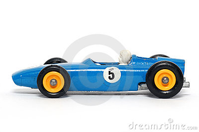 Old toy car B.R.M. Race car #3