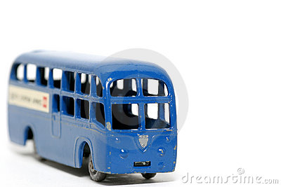 Old toy car BEA Coach