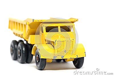 Old toy car Euclid Dump Truck #2