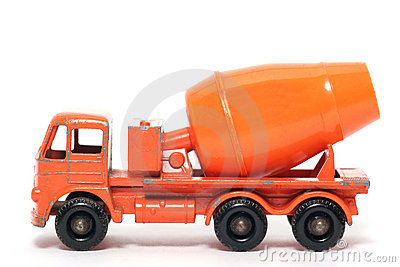 Old toy car Foden Cement Mixer #3