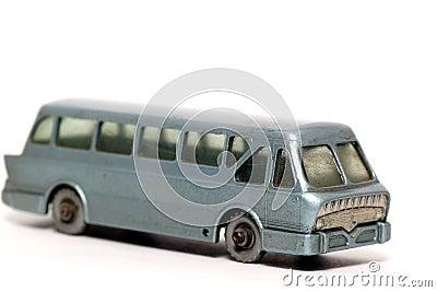 Old toy car Leyland Royal Tiger Coach #2