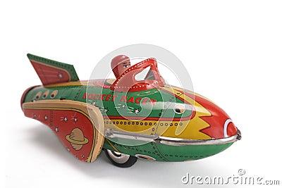Old toy rocket