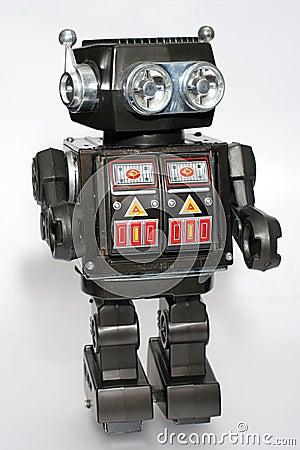Free Old Toy Tin Robot 5 Stock Photo - 1828200
